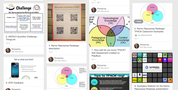 Pinterest Board from Presentation